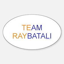 Team Raybatali Oval Decal
