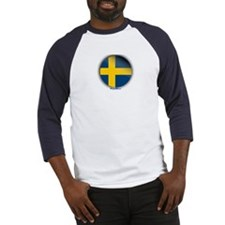 Sweden - Heart Baseball Jersey
