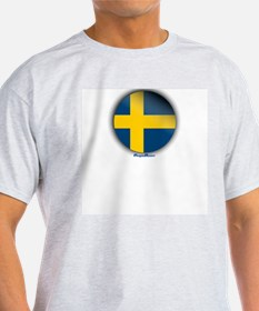 Sweden - Heart T-Shirt
