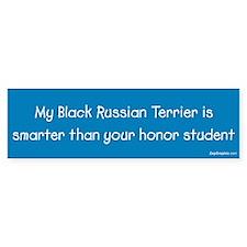 Black Russian Terrier / Honor Student