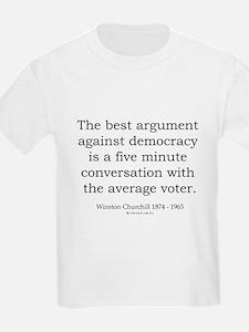 Winston Churchill 34 T-Shirt