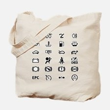 Know Your Warning Signs Tote Bag