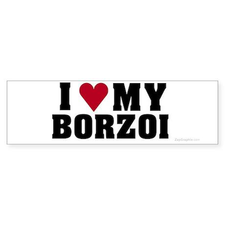 I Love My Borzoi
