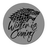 Game thrones Round Car Magnets