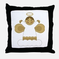 Angel of the Lord Throw Pillow