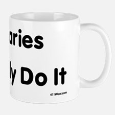 Actuaries Probably Do It_black Mugs