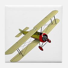 Biplane Tile Coaster