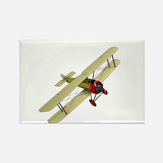 Biplane Rectangle Magnet
