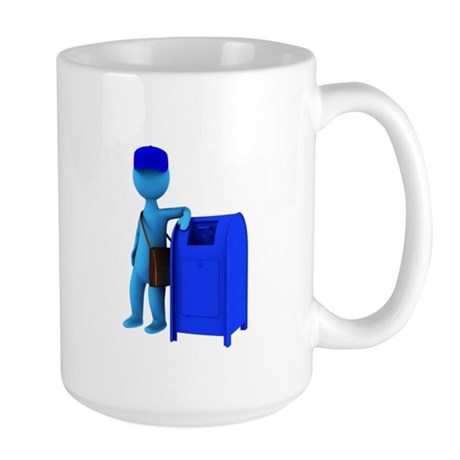 Mail Carriers Large Mug