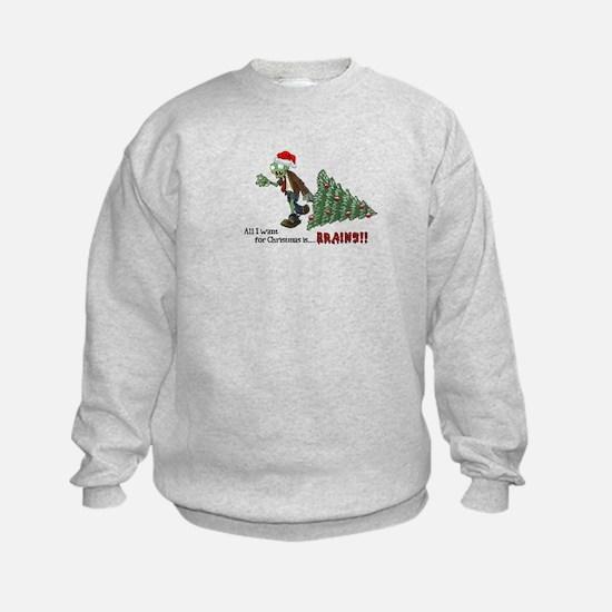 Zombie Christmas Sweatshirt
