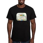Birds Men's Fitted T-Shirt (dark)