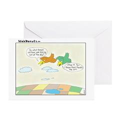 Birds Greeting Cards (Pk of 20)
