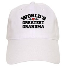 World's Greatest Grandma Baseball Cap
