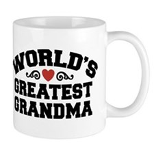 World's Greatest Grandma Small Mugs