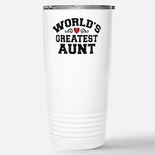 World's Greatest Aunt Travel Mug
