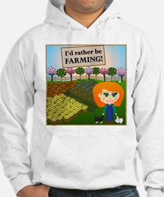 Rather Be Farming Hoodie