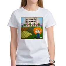 Rather Be Farming Tee