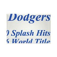 Dodgers Rectangle Magnet