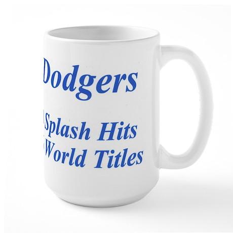 Dodgers Large Mug