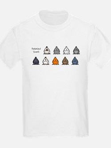 Netherland Dwarf Colors Kids T-Shirt