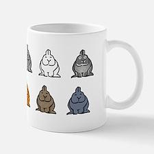 Netherland Dwarf Colors Mug