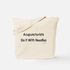 Unique Acupuncturist Tote Bag