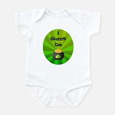 I Want Da Gold Infant Bodysuit