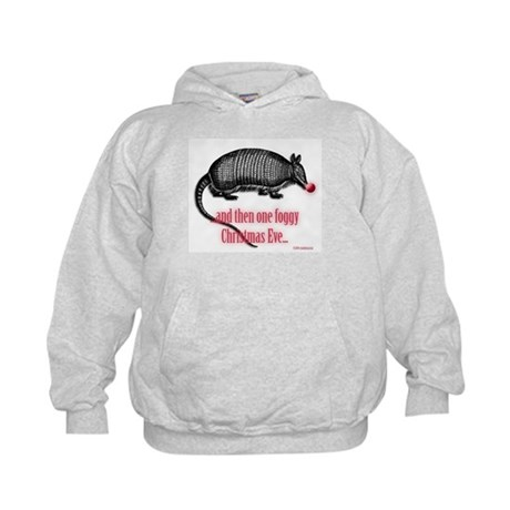 Red Nosed Armadillo Kids Hoodie