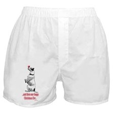 Red Nosed Dog Boxer Shorts