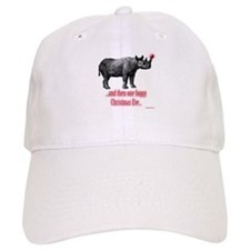 Red Nosed Rhino Baseball Cap