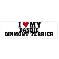 I Love My Dandie Dinmont Terrier