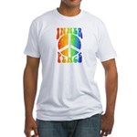 Inner Peace Fitted T-Shirt