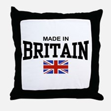 Made In Britain Throw Pillow