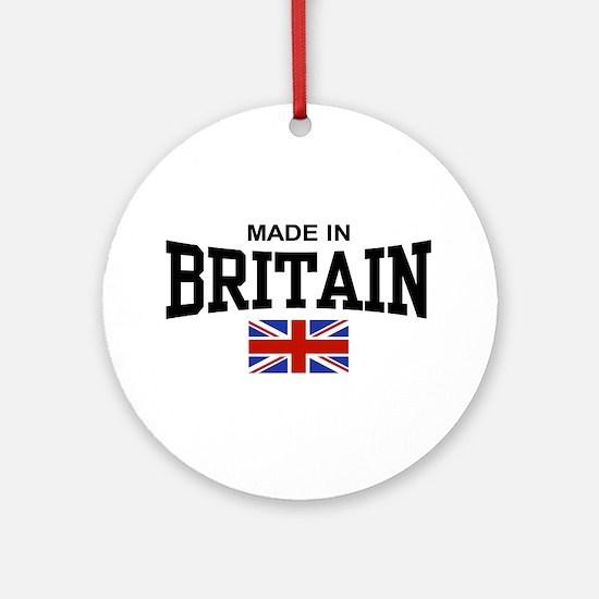 Made In Britain Ornament (Round)
