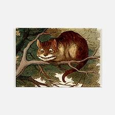 Cute Victorian kitten Rectangle Magnet