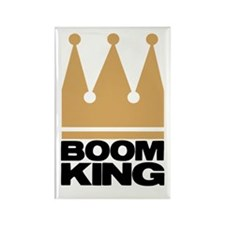 Boom King Rectangle Magnet