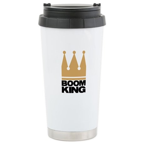 Boom King Stainless Steel Travel Mug