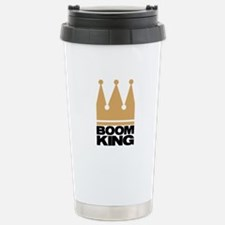 Boom King Stainless Steel Travel Mug