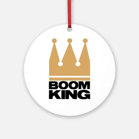 Boom King Ornament (Round)