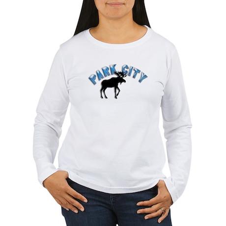 Park City, Utah Women's Long Sleeve T-Shirt
