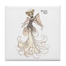 Fashion illustrator Tile Coaster