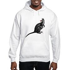 Red Nosed Kangaroo Hoodie Sweatshirt