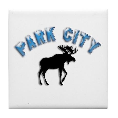 Park City, Utah Tile Coaster