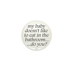 Breastfeeding in Public Mini Button (10 pack)