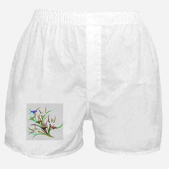 Japanese textile Kakitsubata Boxer Shorts