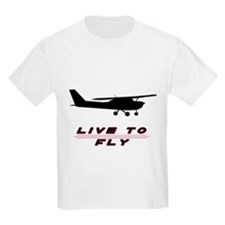 """Live to Fly"" Kids T-Shirt"