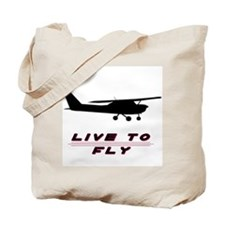 """""""Live to Fly"""" Tote Bag"""