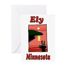 Ely Minnesota Greeting Card