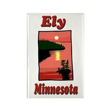 Ely Minnesota Rectangle Magnet