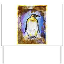 Penguin, colorful, Penguin, Yard Sign